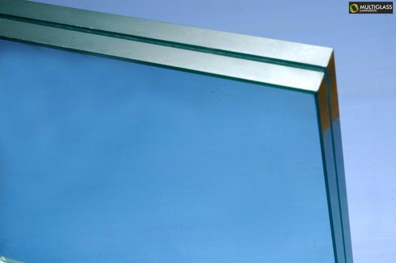Vidros laminados para fachada